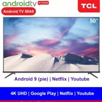 [Ready] Resmi - New TCL 43 inch Android 4K Smart TV LED DVB T2 43A8