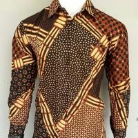 Batik Asli/Batik Murah/Batik grosiran/Kemeja Batik pria/Kemeja Batik