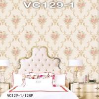 Wallpaper Dinding Bunga Classic VICTORY VC129-1 - 129-4