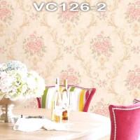 Wallpaper Dinding Bunga Shabby VICTORY VC126-1 - 126-5