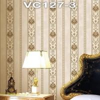 Wallpaper Dinding Classic Garis VICTORY VC127-1 - 127-4