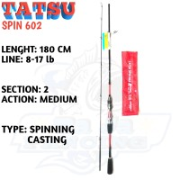 Joran BLOOD TATSU SPIN 602 180cm,Joran Casting Carbon