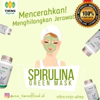 Masker Spirulina Original 100% NO KW