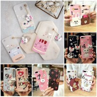 Case Cartoon With Hanging Toys Line Series For Samsung Galaxy A6 Plus