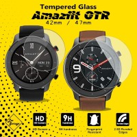 Anti Gores Tempered Glass Amazfit GTR 47mm 42mm Screen Guard Protector