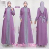 Hanada dress/moscrepe HQ murah murah