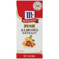 McCormick Pure Almond Flavor Extract Pastry Baking Cake Bahan Kue Cair