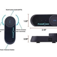 HOT SALE Jual BT Bluetooth Motorcycle Helmet Intercom T-COM VB With FM