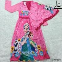 Best Seller Baju Muslim Gamis Anak Perempuan 4 5 6 7 Tahun Map009 - 4