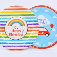 Piring pesta ulangtahun party birthday party tableware (isi6) hpa042