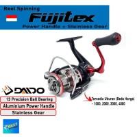 REEL PANCING DAIDO FUJITEX 13 BEARING POWER HANDLE UKURAN 1000 - 4000