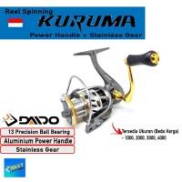 REEL PANCING DAIDO KURUMA 13 BEARING POWER HANDLE UKURAN 1000 - 4000