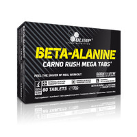 Olimp Beta Alanine Carno Rush Mega Tabs Stamina Energy Endurance