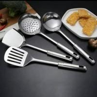 Set spatula stainless steel kitchen tools