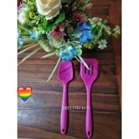 Spatula sally / sutil scoop silicone / sodet best quality