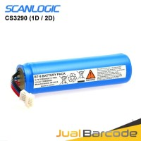 BATTERY BATERAI SCANNER SCANLOGIC CS-3290 CS3290 1D / 2D ORIGINAL