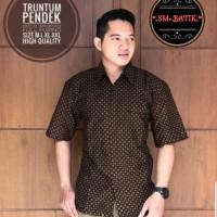 Truntum Kemeja Batik Solo Lengan Pendek Full Furing By SM