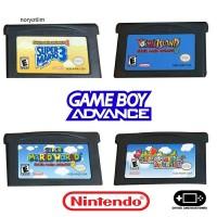 Kaset Nintendo Gameboy Advance GBA SP Gameboy Micro Judul Mario
