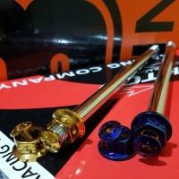 BARU as roda Probolt Vario 150 PCX Stenlis gold blue heng