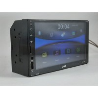 Head Unit Double Din LED Mobil with Mirror Link Android