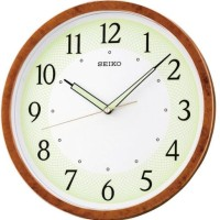 Aerocart Official Store SEIKO Wall Clock QXA472 Quiet Sweep Lumibrite