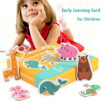 SALE Love Baby Mainan Jigsaw Puzzle Mencocokan Gambar untuk Edukasi