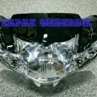batok kepala depan vega r new plus replektor dan lampu sein