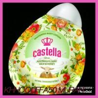 Hot Pemutih Kulit Body Milk Castella Whitening Lotion Susu Domba Madu
