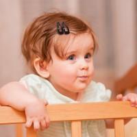 Terbaik 5 Pasang Jepit Rambut Bahan Alloy Warna Polos untuk Bayi /