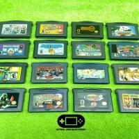 Kaset GBA Nintendo Gameboy Advance Classic GBA SP Micro 2 Kaset