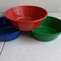 Baskom Plastik 12 / Baskom Warna / Baskom Murah / Bak Plastik Murah