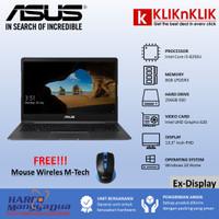 Laptop Murah ASUS Zenbook UX331UA i5-8250U 256GB SSD Grey Ex-Display