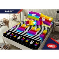 Sprei KINTAKUN D'LUXE - BANTAL 4 - RABBIT - 180x200 (King Size)