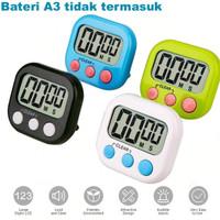 Timer masak Digital Kitchen Alarm Dapur Masak Clock Stopwatch