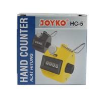Joyko Hand Tally Counter Alat Hitung Cepat Tasbih Zikir HC-5 HC5
