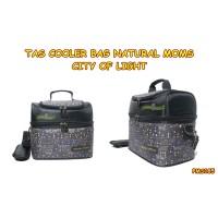 PMS185 TAS COOLER BAG NATURAL MOMS CITY OF LIGHT