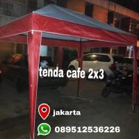 tenda cafe 2x3 peneduh lapak