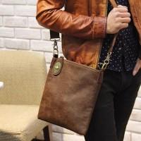 Tas selempang pria korea keylock (kulit waterproof)