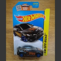 Hot Wheels Mitsubishi Lancer Evolution Evo X Black Super Treasure Hunt