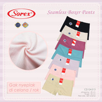 CD Short Sorex - CD Boxer Seamless Sorex tanpa jahitan 513