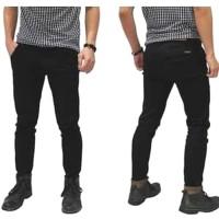 Celana Jeans Pria | Celana Softjeans Pria | Jeans Hitam Pria Slim Fit