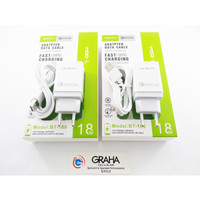 CHARGER OPPO BT-168 WHITE FAST CHARGING