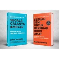 PAKET BUKU BODO AMAT AMBYAR - MARK MANSON