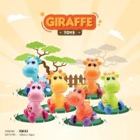 Mainan Bayi Anak Edukasi Motorik IQ Angel Giraffe Jerapah Putar