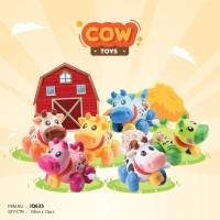 Mainan Bayi Anak Edukasi Motorik IQ Angel Cow Sapi Putar
