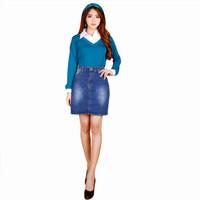 Rok mini denim Wanita Dewasa Casual Model Terbaru - Jfashion Yana