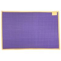 Lb 4452 - plain rubber cot sheet 90Cm X 60Cm (Purple/Orange)