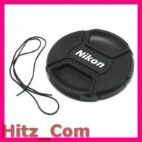 Penutup Lensa Kamera Nikon Lens Cap 82mm Black