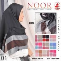 Hijab Jilbab Kerudung Segiempat Umama Noor syar'i (Jumbo) uk 140x140