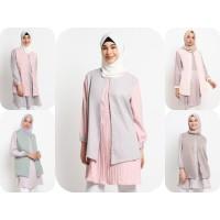 Baju Atasan Muslim Wanita Le Najwa Granita Tunik